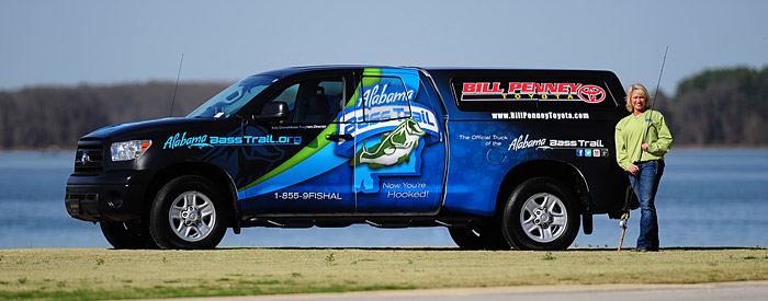Official Alabama Bass Trail Truck