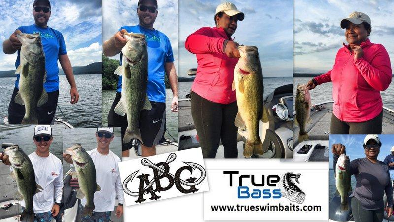 True Bass Swimbaits catching fish!