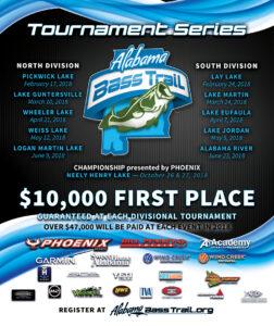 Alabama Bass Trail Tournament Series 2018