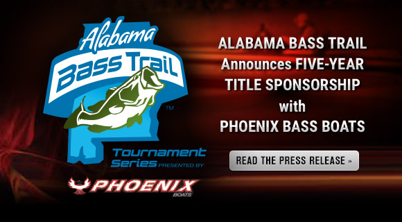 Alabama Bass Trail Announces Five-Year Title Sponsorship with Phoenix Bass Boats